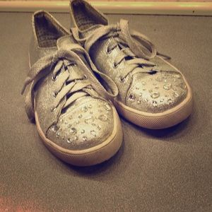 Justice Bedazzled Shoes